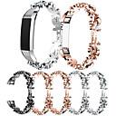 رخيصةأون أساور ساعات FitBit-حزام إلى Fitbit Alta HR / Fitbit Alta فيتبيت عصابة الرياضة / تصميم المجوهرات ستانلس ستيل / خزفي شريط المعصم