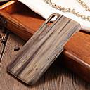 رخيصةأون إكسسوارات سامسونج-غطاء من أجل Apple iPhone X / iPhone 8 Plus / iPhone 8 نحيف جداً غطاء خلفي خشب قاسي الكمبيوتر الشخصي