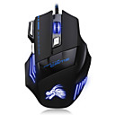 رخيصةأون ماوس الكمبيوتر-Factory OEM السلكي USB لعب الفأر ضوء RGB 5500 dpi 3 مستويات DPI قابلة للتعديل 7 pcs مفاتيح