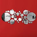 رخيصةأون ملصقات ديكور-لواصق حائط مزخرفة - ملصقات الحائط على المرآة أشكال غرفة الجلوس / غرفة النوم / دورة المياه