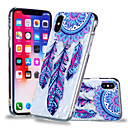 billige iPhone-etuier-Etui Til Apple iPhone X / iPhone 8 Plus Mønster Bagcover Drømme fanger Blødt TPU for iPhone X / iPhone 8 Plus / iPhone 8