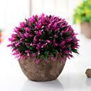 hesapli Oto Stickerları-Yapay Çiçekler 1 şube Klasik Sahne Malzemeleri / minimalist tarzı Bitkiler / Vase Yer Çiçeği