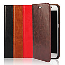 cheap Galaxy S Series Cases / Covers-Case For Samsung Galaxy S9 / S8 Plus Wallet / Card Holder / with Stand Full Body Cases Solid Colored Hard Genuine Leather for S9 / S8 / S7 edge