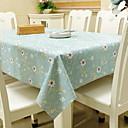 זול מפות שולחן-עכשווי PVC לא ארוג ריבוע כיסויי שולחן גיאומטרי לוח קישוטים 1 pcs