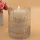 cheap Candles & Candleholders-European Style Glass Candle Holders Candelabra 1pc, Candle / Candle Holder