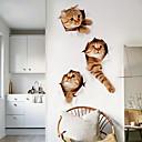 preiswerte Küchenreinigung-Dekorative Wand Sticker - Flugzeug-Wand Sticker Tiere Wohnzimmer / Badezimmer
