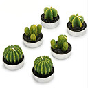 cheap Candles & Candleholders-Simple Style The Cactus Candles 6pcs