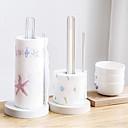 baratos Decoração de parede-Organização de cozinha Prateleiras e Suportes Plástico Novo Design / Gadget de Cozinha Criativa / Fácil Uso 1pç