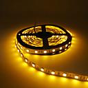 hesapli LED Tişörtler-5m Esnek LED Şerit Işıklar 300 LED'ler 5050 SMD Kırmızı / Sarı / Yeşil Kesilebilir / Bağlanabilir / Kendinden Yapışkanlı 12 V 1pc