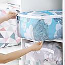 preiswerte Lagerung und Organisation-PVC Rechteck Geometrische Muster / bezaubernd Zuhause Organisation, 1pc Aufbewahrungsbeutel / Schubladen