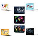 cheap Headlamps-MacBook Case Map / 3D Cartoon PVC(PolyVinyl Chloride) for New MacBook Pro 13-inch / MacBook Air 13-inch / MacBook 12''