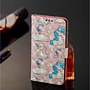 tanie Makijaż i pielęgnacja paznokci-Kılıf Na Samsung Galaxy J8 / J7 Duo Portfel / Etui na karty / Z podpórką Pełne etui Jednorożec Twardość Skóra PU na J8 / J7 Duo / J6