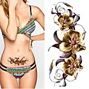cheap Temporary Tattoos-2 pcs Tattoo Stickers Temporary Tattoos Totem Series / Flower Series Eco-friendly / New Design Body Arts Body / Arm / Chest / Decal-style temporary tattoos