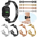 cheap LED Car Bulbs-Watch Band for Fitbit Blaze Fitbit Sport Band / Jewelry Design Stainless Steel / Ceramic Wrist Strap