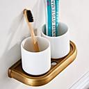 povoljno Gadgeti za kupaonicu-Držač četkica za zube New Design Starinski mesing 1pc Zidne slavine