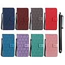رخيصةأون LG أغطية / كفرات-غطاء من أجل LG LG K10 (2017) / LG K10 / LG K8 (2017) محفظة / حامل البطاقات / مع حامل غطاء كامل للجسم زهور قاسي جلد PU