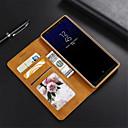رخيصةأون إكسسوارات سامسونج-غطاء من أجل Samsung Galaxy Note 9 / Note 8 لعبة القضية غطاء كامل للجسم لون سادة قاسي جلد PU إلى Note 9 / Note 8
