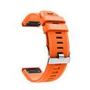 رخيصةأون أساور ساعات Garmin-حزام إلى Fenix 5 Garmin عصابة الرياضة سيليكون شريط المعصم