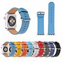 preiswerte Apple Watch Armbänder-Uhrenarmband für Apple Watch Series 4/3/2/1 Apple Lederschlaufe Echtes Leder Handschlaufe