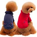 voordelige Hondenkleding & -accessoires-Honden Katten Sweatshirt Hondenkleding Effen Grijs Rood Katoen Kostuum Voor Mopshond Bichon Frise Schnauzer Herfst Winter Unisex Casual / Dagelijks Opwarm Kleding
