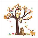 رخيصةأون ملصقات ديكور-لواصق حائط مزخرفة - لواصق حائط الطائرة / ملصقات الحائط الحيوان حيوانات / الأزهار / النباتية حضانة / غرفة الأطفال / قابل للغسيل