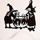 tanie Zestawy biżuterii-Dekoracyjne naklejki ścienne - Naklejki ścienne lotnicze Halloween w pomieszczeniach