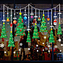 رخيصةأون الستائر-فيلم نافذة وملصقات زخرفة عيد الميلاد شخصية PVC ملصق النافذة / بديع / مضحك