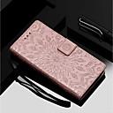Недорогие Чехлы и кейсы для Galaxy S4 Mini-Кейс для Назначение Motorola MOTO G6 / Moto G6 Plus / Moto E5 Plus Кошелек / Бумажник для карт / со стендом Чехол Цветы Твердый Кожа PU
