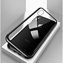 hesapli iPhone Kılıfları-Pouzdro Uyumluluk Apple iPhone X / iPhone 8 / iPhone 8 Plus Şoka Dayanıklı / Şeffaf / Manyetik Tam Kaplama Kılıf Solid Sert Temperli Cam / Metal için iPhone X / iPhone 8 Plus / iPhone 8