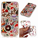 cheap iPhone Cases-Case For Apple iPhone XR / iPhone XS Max Transparent / Pattern Back Cover Christmas Soft TPU for iPhone XS / iPhone XR / iPhone XS Max