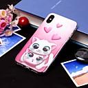 baratos Capinhas para iPhone-Capinha Para Apple iPhone XS / iPhone XS Max IMD / Translúcido Capa traseira Gato Macia TPU para iPhone XS / iPhone XR / iPhone XS Max