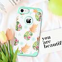 olcso iPhone tokok-BENTOBEN Case Kompatibilitás Apple iPhone 8 / iPhone 7 Ütésálló / Minta Fekete tok Élelem / Gyümölcs Kemény PC / Silica Gel mert iPhone 8 / iPhone 7
