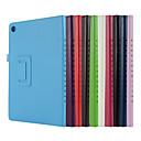 billige Tabletetuier-Etui Til Huawei MediaPad M5 10 (Pro) / MediaPad M5 10 Med stativ / Flip / Origami Fuldt etui Ensfarvet Hårdt PU Læder for MediaPad M5 10 (Pro) / MediaPad M5 10