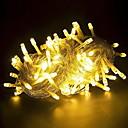 hesapli LED Şerit Işıklar-10m Dizili Işıklar 100 LED'ler Sıcak Beyaz Dekorotif 220-240 V 1set