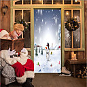 cheap Stress Relievers-Door Stickers - 3D Wall Stickers Christmas Decorations / Holiday Indoor / Outdoor