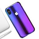 baratos Capinhas para iPhone-Capinha Para Apple iPhone XR / iPhone XS Max Ultra-Fina / Transparente Capa traseira Cores Gradiente Rígida PC para iPhone XS / iPhone XR / iPhone XS Max