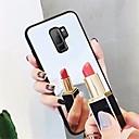 billige Etuier / covers til Galaxy S-modellerne-Etui Til Samsung Galaxy S9 Plus / S9 Spejl Bagcover Ensfarvet Hårdt Tempereret glas for S9 / S9 Plus / S8 Plus