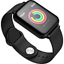 cheap Smartwatches-KUPENG B57 Smart Bracelet Smartwatch Android iOS Bluetooth Sports Waterproof Heart Rate Monitor Blood Pressure Measurement Touch Screen Pedometer Call Reminder Sleep Tracker Sedentary Reminder Find