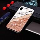 hesapli LED Gereçler-Pouzdro Uyumluluk Apple iPhone XR / iPhone XS Max IMD / Temalı Arka Kapak Mermer Yumuşak TPU için iPhone XS / iPhone XR / iPhone XS Max