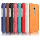 رخيصةأون أغطية-غطاء من أجل Asus Asus ZenFone Max ZC550KL / ASUS ZenFone Max Pro M1 ZB601KL / Asus ZenFone GO ZC500TG مثلج غطاء خلفي لون سادة قاسي جلد PU