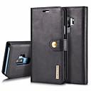olcso Galaxy S tokok-Case Kompatibilitás Samsung Galaxy S9 Plus / S9 Kártyatartó / Ütésálló / Flip Héjtok Egyszínű Kemény PU bőr mert S9 / S9 Plus / S8 Plus
