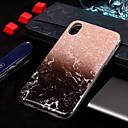 hesapli LED Gereçler-Pouzdro Uyumluluk Apple iPhone XS / iPhone XS Max IMD / Temalı Arka Kapak Mermer Yumuşak TPU için iPhone XS / iPhone XR / iPhone XS Max