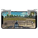 abordables Accesorios para Juegos de Smartphone-Sin Cable Controladores de juego Para Android / iOS ,  Portátil / Cool Controladores de juego ABS 2 pcs unidad