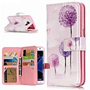 cheap Galaxy S Series Cases / Covers-Case For Samsung Galaxy S9 Plus / S8 Wallet / Card Holder / with Stand Full Body Cases Dandelion Hard PU Leather for S9 / S9 Plus / S8 Plus