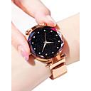 ieftine Ceasuri Damă-Pentru femei Ceas de Mână ceas de aur Quartz Negru / Albastru / Violet 30 m Rezistent la Apă imitație de diamant Analog femei Sclipici Modă Astronomic - Mov Albastru Roz auriu