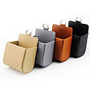 cheap Car Mounts & Holders-DE RAN FU Small sheepskin car out of the air pocket mobile phone bag wind mouth bag car storage box multi-functional miscellaneous boxes