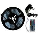 رخيصةأون إكسسوارات سامسونج-SENCART 5m مجموعات ضوء 300/150 المصابيح SMD5050 1 44Keys جهاز تحكم عن بعد / 1 × 2A محول الطاقة RGB قابل للقص / ديكور / قابلة للربط 100-240 V 1SET / مناسبة للالسيارات / اللصق التلقي