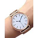 ieftine Imbracaminte & Accesorii Căței-Pentru femei Ceas de Mână ceas de aur Quartz Oțel inoxidabil Negru / Argint / Auriu 30 m Rezistent la Apă Creative Analog femei Vintage Modă - Negru Argintiu Roz auriu