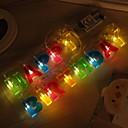 tanie Taśmy świetlne LED-1.2 m Łańcuchy świetlne 13 Diody LED Ciepła biel Dekoracyjna Zasilanie bateriami AA 1 zestaw