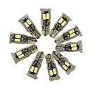 billiga Innerbelysning-SENCART 10pcs T10 Bilar Glödlampor 5 W SMD 5630 800 lm 10 LED innerbelysningen Till General Motors Alla år